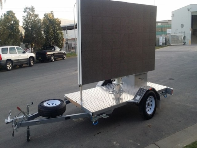 Custom Sign And Advertising Trailers | Sydney Australia