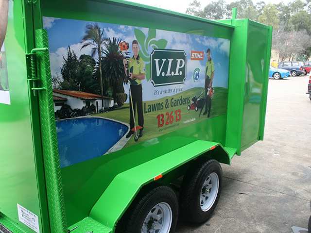 Custom Lawnmowing Trailers | Sydney Australia