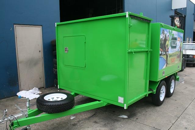 Lawnmowingtrailer 3